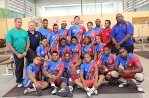 Yudelkis Contreras encabeza el equipo dominicano en el Panamericanos de pesas