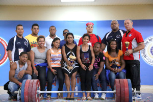 Dominicana lideró la rama femenina del Panamericano de pesas