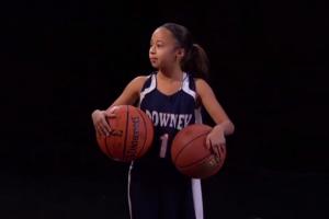 Jaden Newman, reclutada para el básquet universitario con apenas nueve años