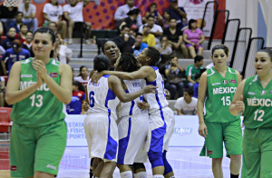 Dominicana se mantiene viva en el Centrobasket con triunfo sobre México