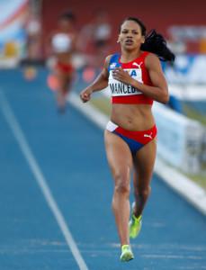 María Mancebo lucha por superar los obstáculos por un oro en los Juegos Centroamericanos y del Caribe