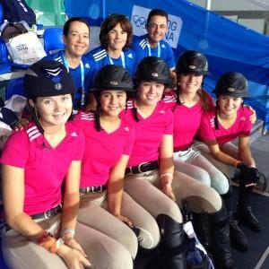 María Brugal queda en tercer lugar en ecuestre en Juegos de la Juventud