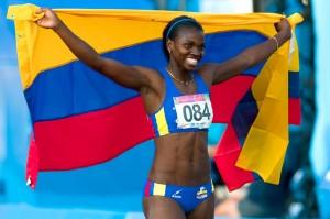 Catherine Ibargüen, reina del salto triple de la Liga Diamante
