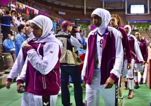 La selección de Catar no juega por no poder llevar el 'hijab'
