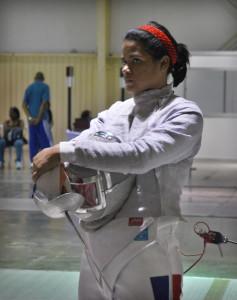 La esgrimista dominicana Rossy Félix cosecha medalla de plata en México