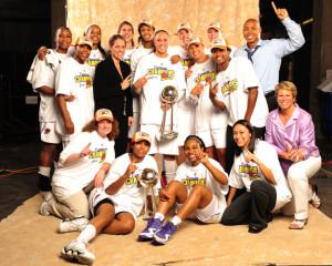 Phoenix Mercury, unas campeonas de ensueño en la WNBA