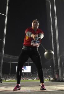 La china Wenxiu Zhang, bronce olímpico en martillo, dio positivo de dopaje