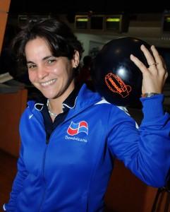 Aumi Guerra logró el bronce en el boliche