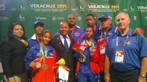 Levantamiento de pesas aporta seis medallas  a República Dominicana en inicio competencia