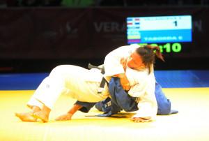 Eliveri Villanueva corona su actuación con un bronce en judo