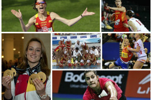 En España celebran el año de las mujeres en deportes