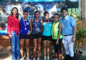 Cecilia Fermín se corona campeona del torneo de pentatlón