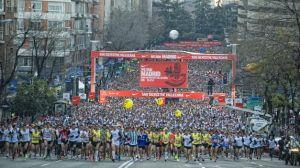La San Silvestre reúne a 40.000 atletas