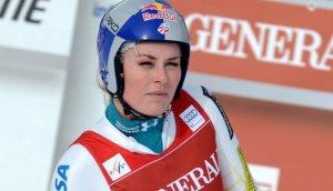 Lindsey Vonn, la novia de Tiger, regresa por todo lo alto al patinaje