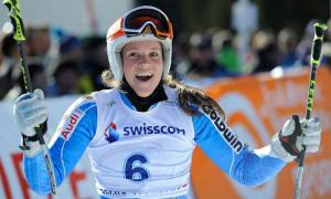 La sueca Sara Hector logra en Kuehtai su primera victoria