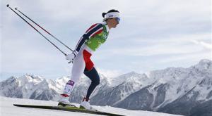 Marit Bjoergen logra en el esprint su 13 título mundial en esquí