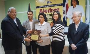 Kenia Polanco y Raidilys Rosario toman la delantera en nacional de ajedrez