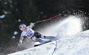 Vonn, la novia de Tiger, volvió a ganar en esquí