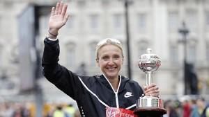 Radcliffe, la leyenda del maratón, se despide del atletismo en Londres