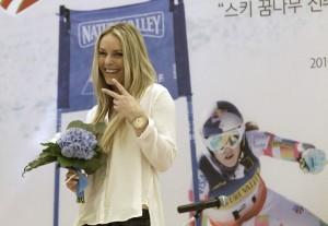 Lindsey Vonn será embajadora de los Juegos de Pyeongchang 2018