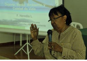 Felicita Heredia llama a reflexión en Día del Medioambiente