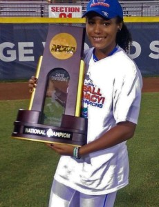 Una boricua fue clave para la victoria de Florida en softbol NCAA