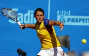 Colombiana Mariana Duque logra oro en tenis