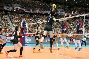 El voleibol femenino también se complica el boleto a Olímpicos
