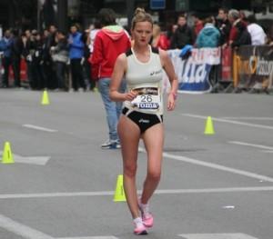 July Takacs, nueva campeona de Europa de 20 km marcha de 2011