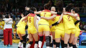China vence a Serbia y gana su tercer oro en voleibol femenino