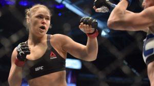 Ronda se prepara con púgil olímpica para su regreso a UFC