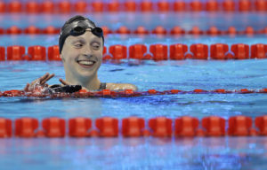 Katie Ledecky sigue triturando récords