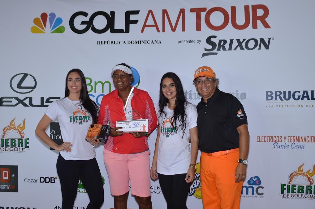 Cecilia Rosado gana tercera parada del Golf Channel RD
