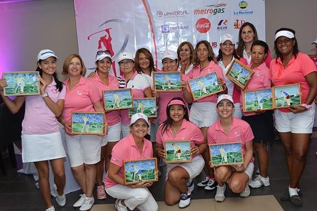 """Macovec y Rosado brillan en el """"Pink Golf Tour"""""""