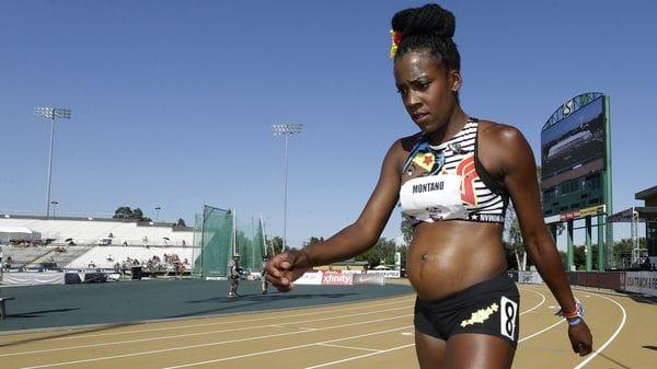 La fondista que compitió embarazada inspirada en la Mujer Maravilla