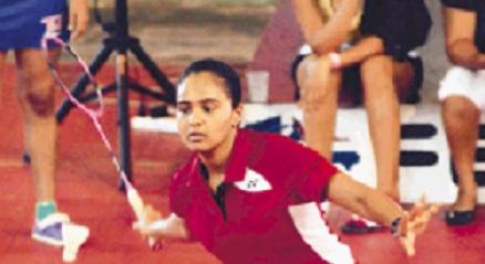 Arianna Sánchez se coronan campeona de bádminton