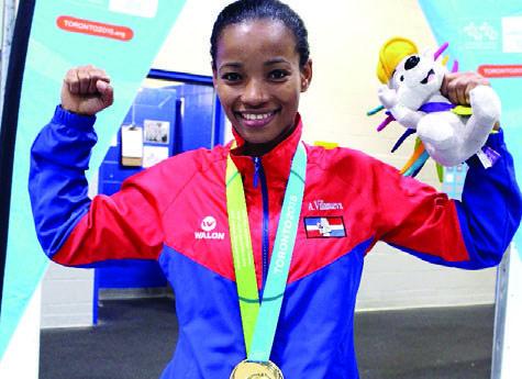 Karate dominicano gana tres oro en Panam