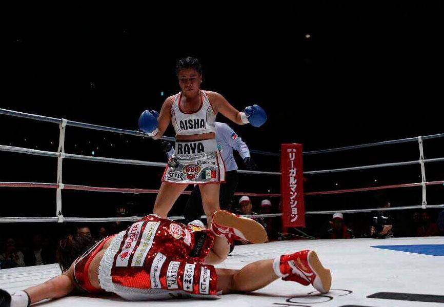 La campeona mundial Monserrat Alarcón dice que le interesa el cinturón paja