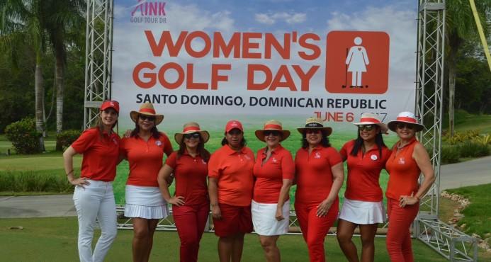 "República Dominicana celebra el ""Womens Golf Day"""