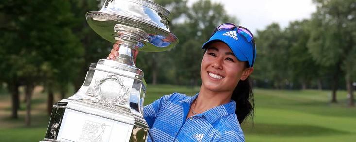 Danielle Kang sorprendió con el KPMG Women´s PGA Championship