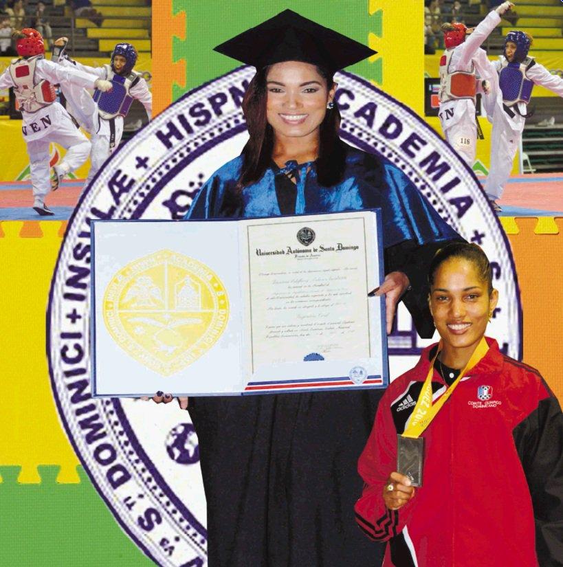 Disnansi Polanco, campeona de taekwondo e ingeniera