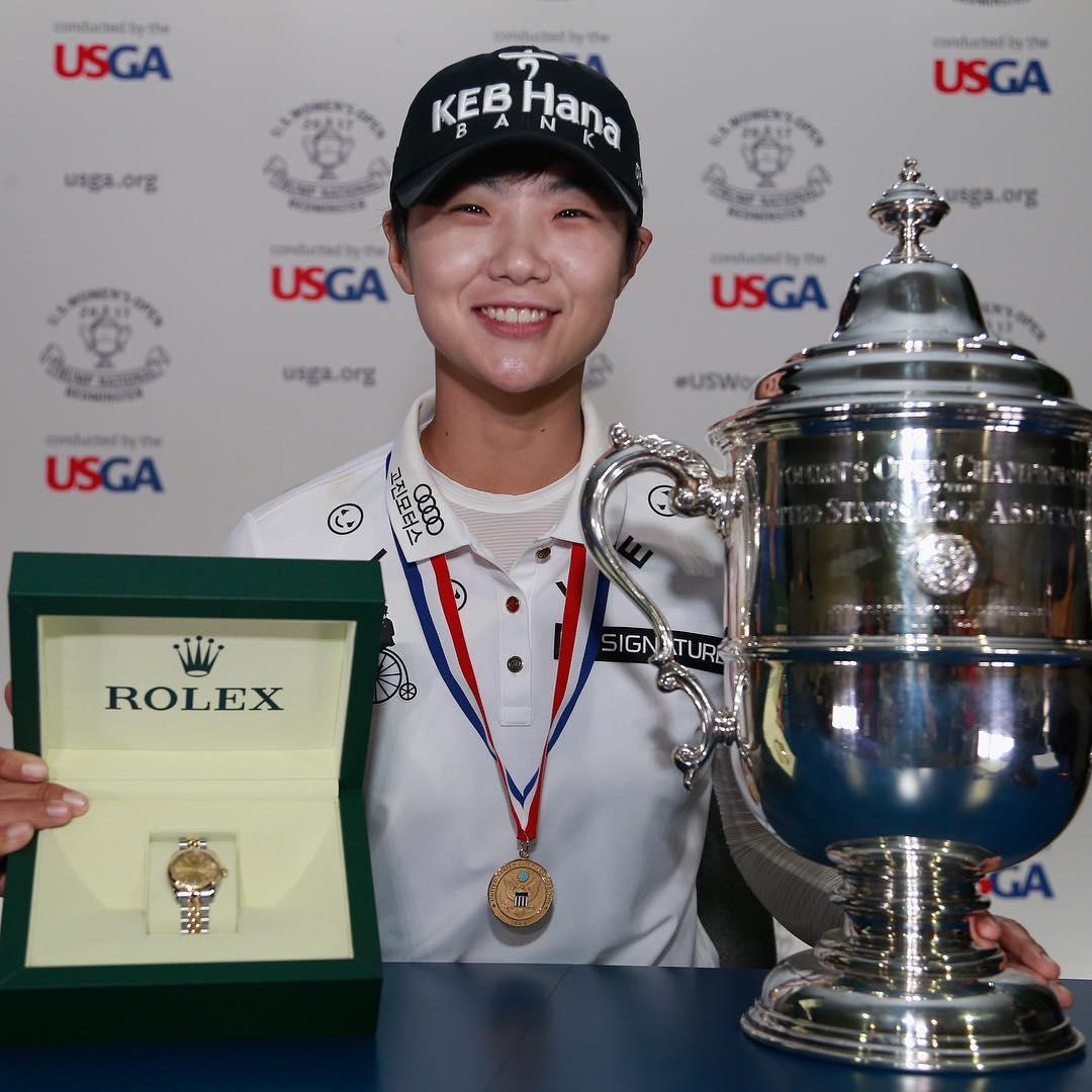 Surcoreana Sung-Hyun gana torneo femenino de golf US Open