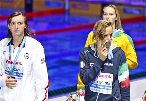 La reina de la piscina, Ledecky, pierde en los 200 libres