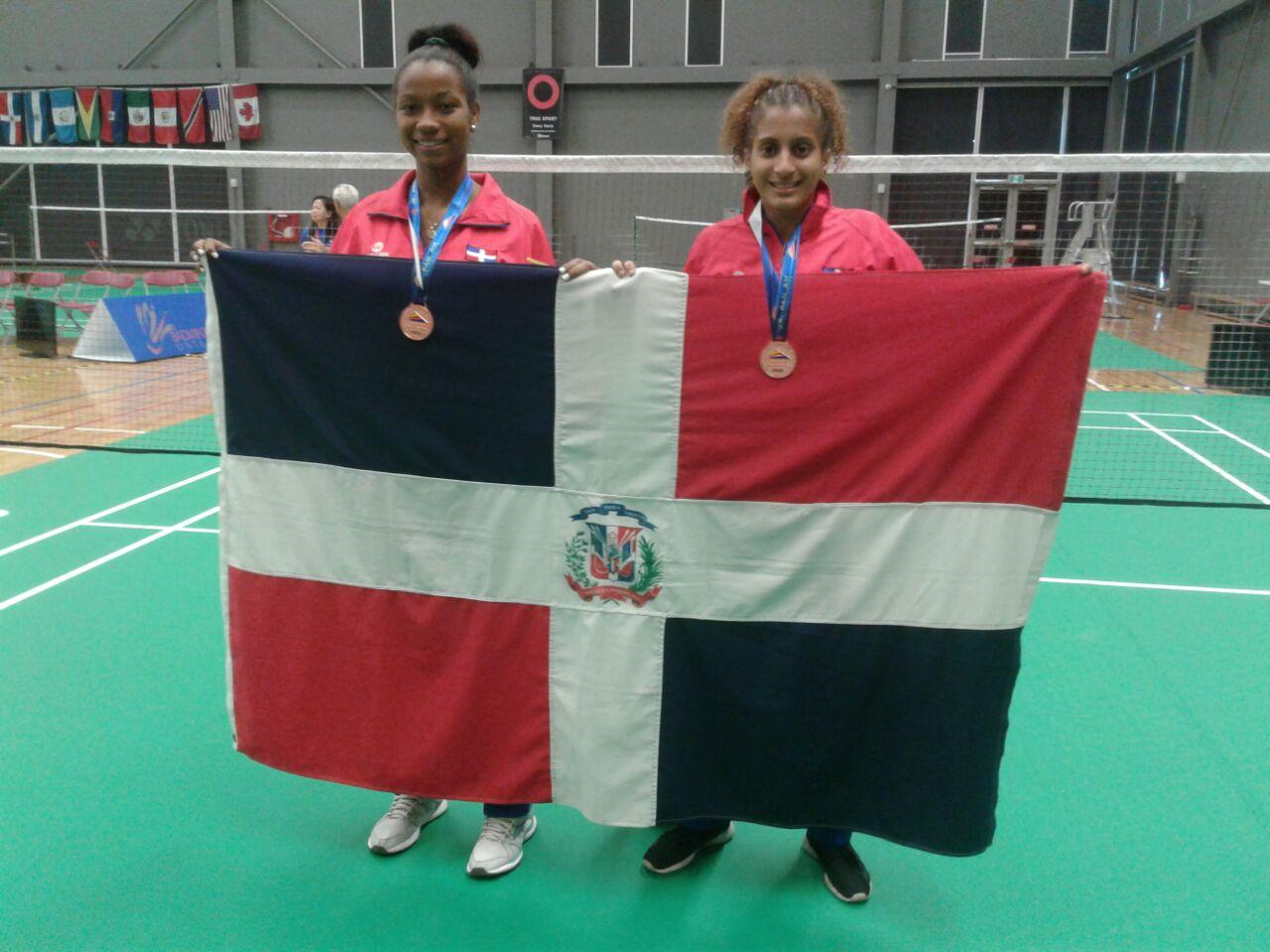 Polanco y Jiménez cierran con bronce Panamericano Juvenil bádminton de Canadá