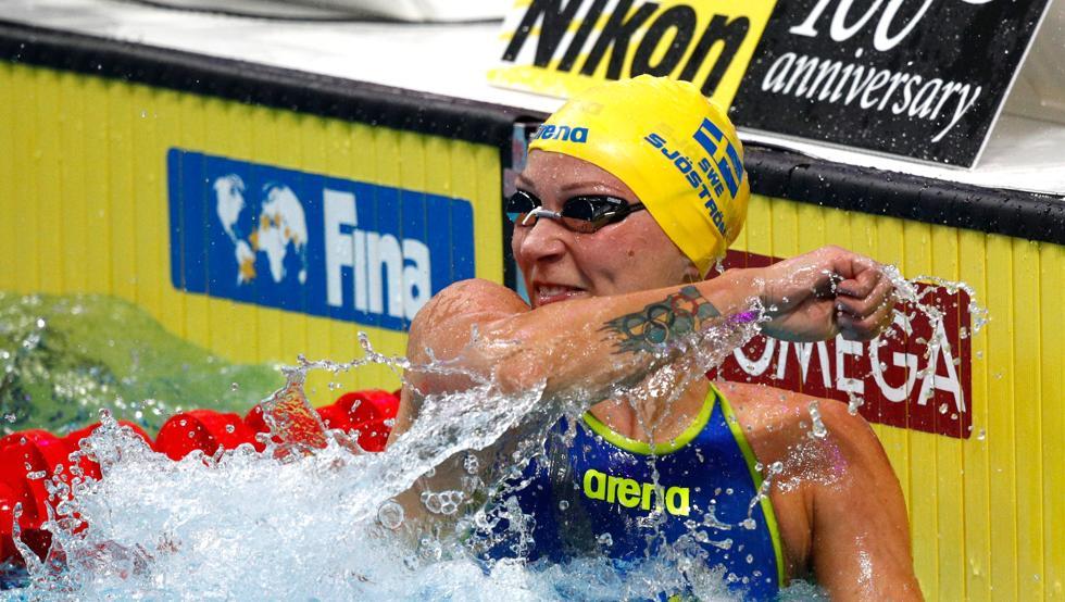 Sjöström en Budapest como reina de la velocidad acuática
