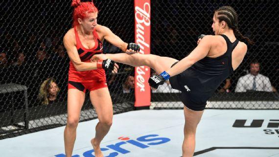 Alexa Grasso se lleva el triunfo ante Randa Markos en UFC México