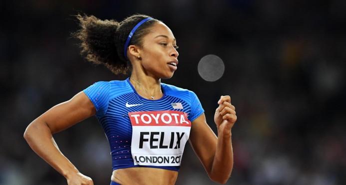 Allyson Felix fija nuevo récord de medallas en Mundial tras