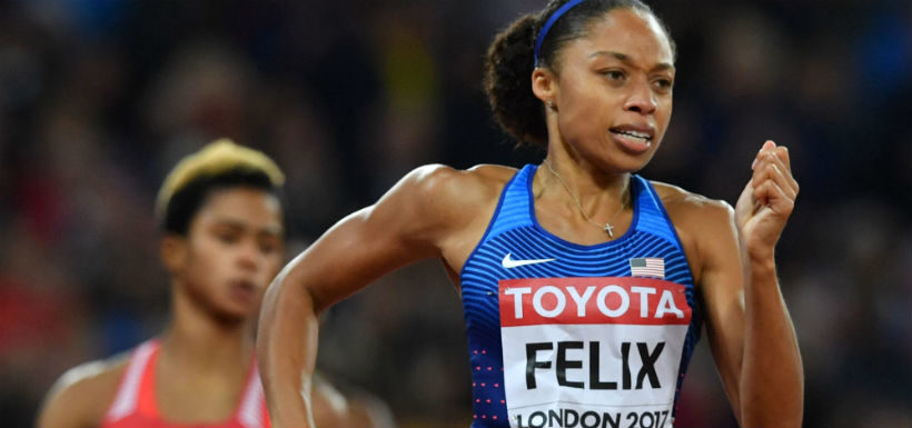 Allyson Felix gana bronce e iguala récord de medallas de Usain Bolt y Marlene Ottey