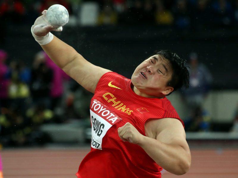 La china Lijiao se doctora en peso