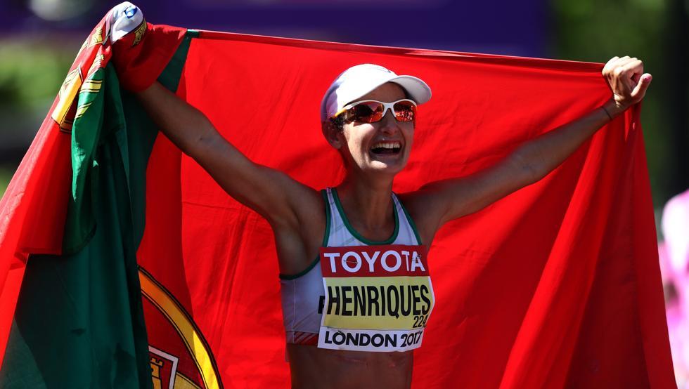 Henriques, la primera campeona de 50 km con nuevo récord del mundo